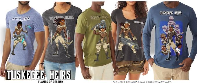 T-Shirt Lineup