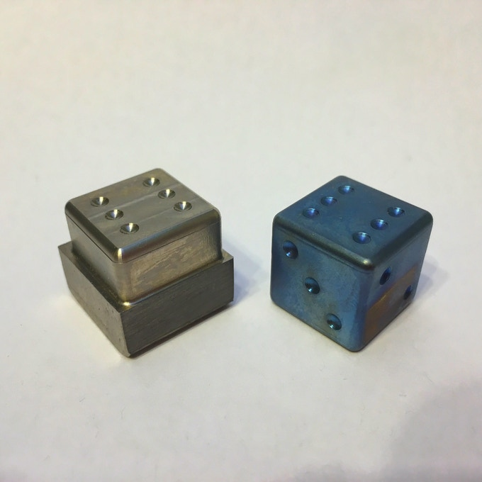 Before vs After Flame Anodizing