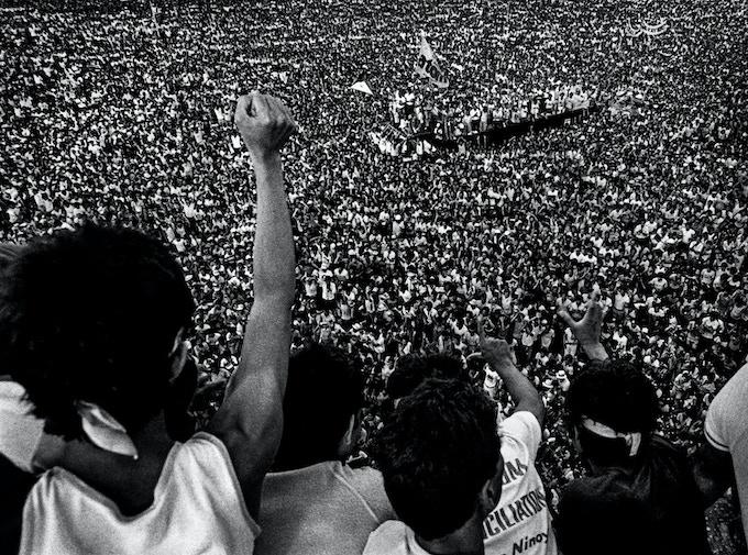 First anniversary of the assassination of Sen. Benigno S. Aquino, Jr. , Luneta Grandstand, Manila, August 21, 1984