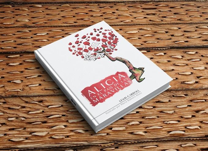 Preview: Libro Alicia en el país de las maravillas