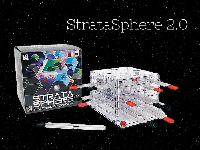 The SIMPLE 'out of this world' strategy game of gravity! Support local schools with StrataSphere 2.0.