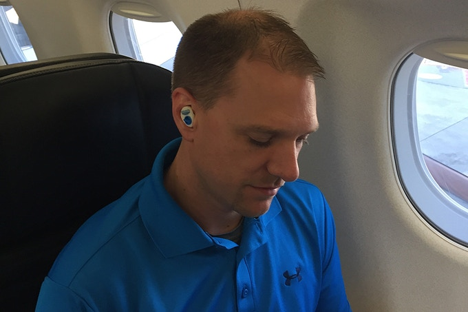 Adjustable Noise Reduction on Airplanes