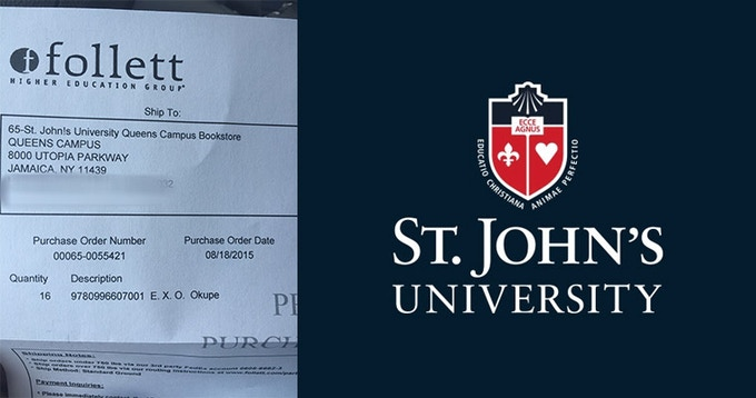 St. Johns University ordered a bunch of books for a course on graphic novels!