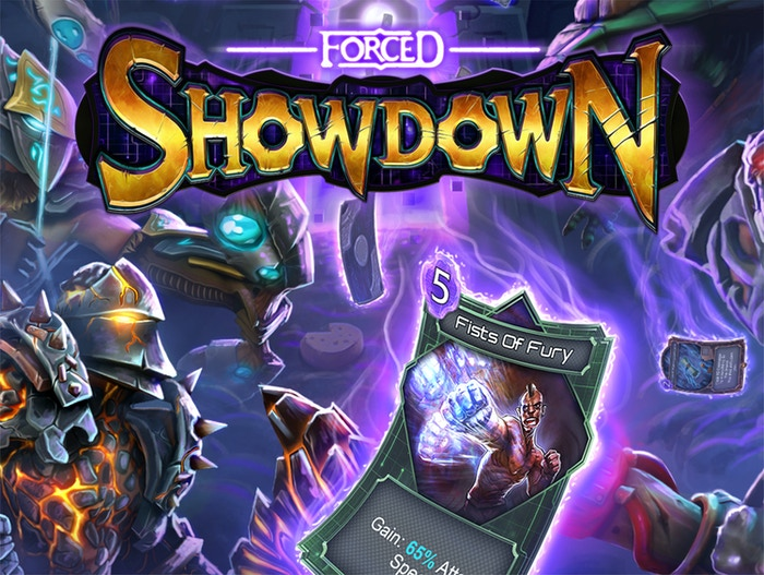 Action and Deckbuilding are combined in a Galactic Game Show, with battles instead of questions!