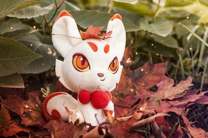 Kitsune enjoying her fall forest.