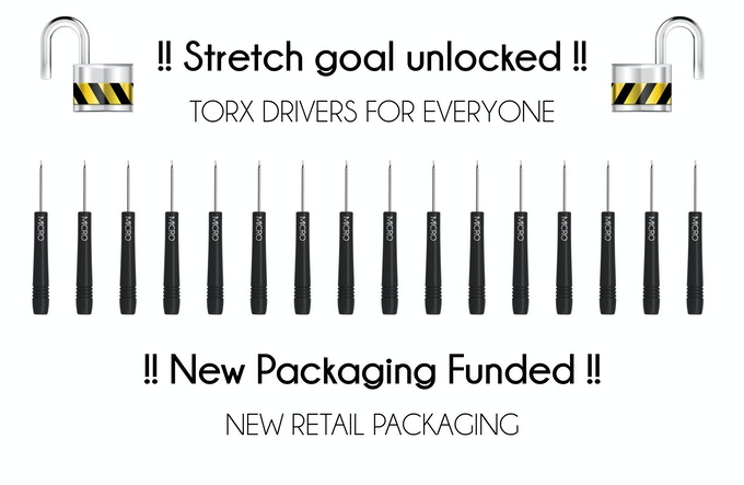 Torx drive and Packaging