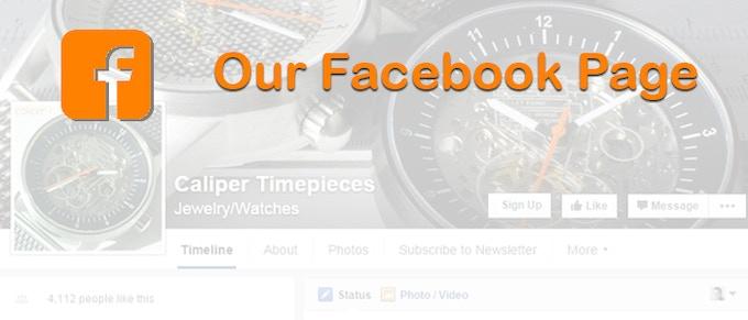 Like our Facebook page: facebook.com/calipertimepieces/