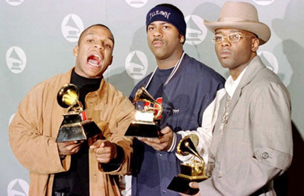 WE WON THE FIRST EVER GRAMMY AWARD FOR BEST RAP ALBUM! HOW CRAZY IS THAT?