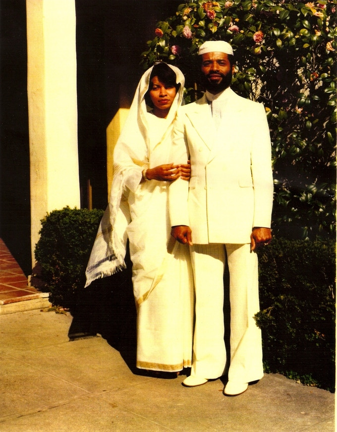 My mother and father on their wedding day.