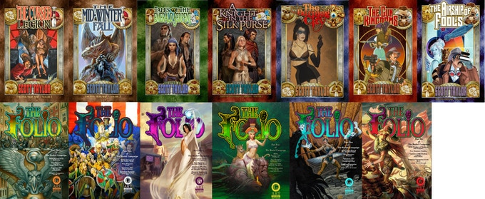 We have run and delivered 13 Kickstarter books through AotG.