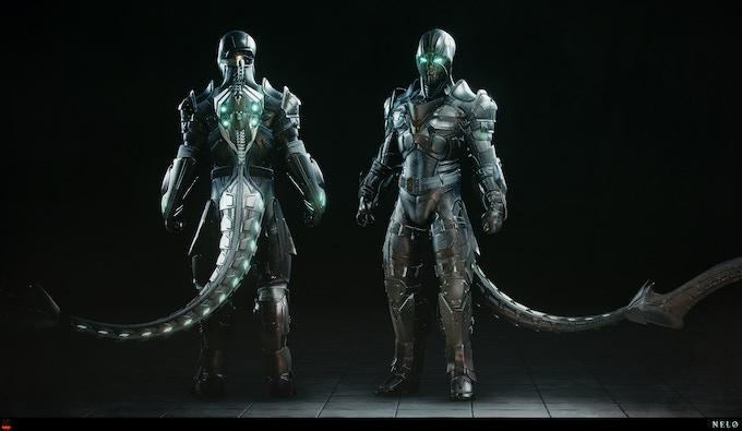 Nelo is an elite Zenith class warrior for the Tono Gians.