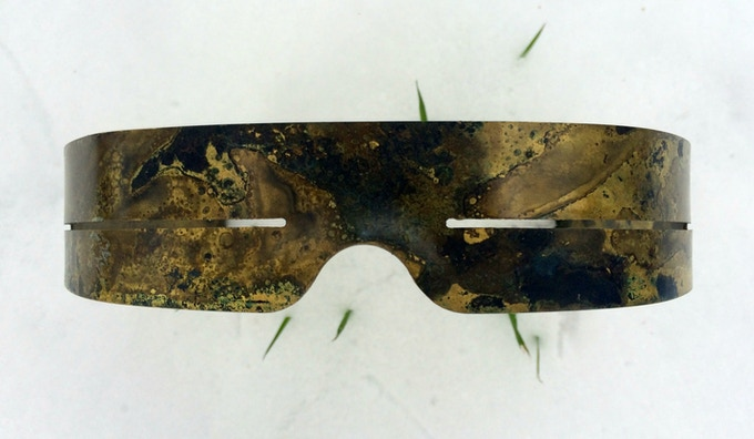 The Ice Hunter Model in Oxide Brass, Ochre, Arc Style Reward