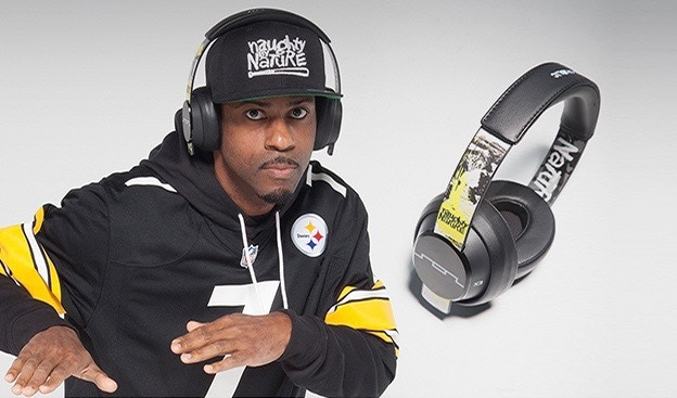 HERE IS DJ KAY GEE WEARING OUR LIMITED EDITION SOL REPUBLIC 25th ANNIVERSARY HEADPHONES