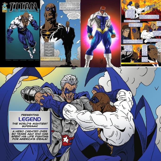 Titan the Ultra Man  (Advent Universe)