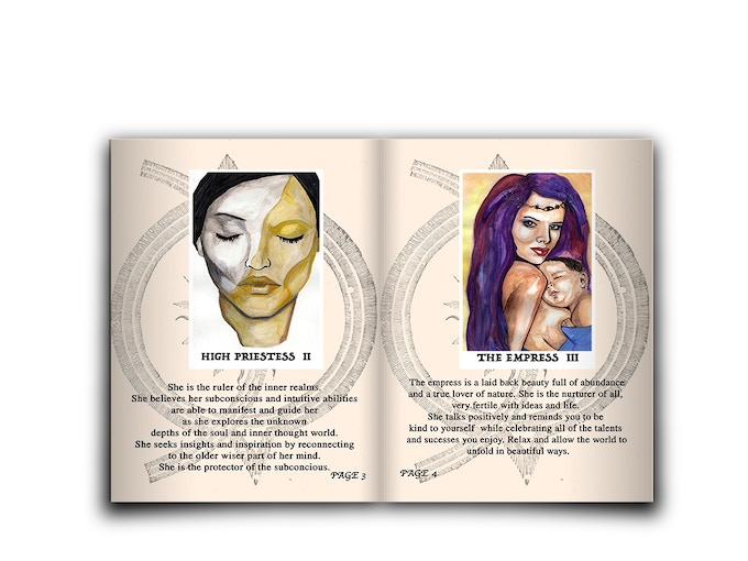 TEMPTRESS TAROT and CONFLICT ORACLE DECK Limited Edition by