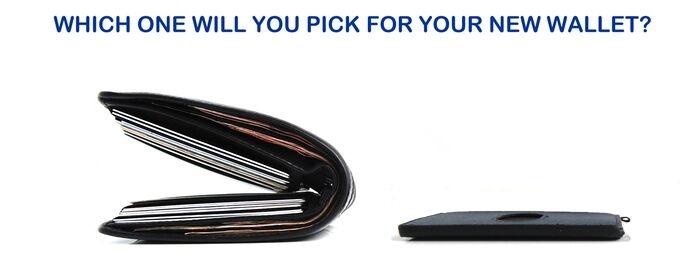 old wallet VS Urban Slim wallet 2.0