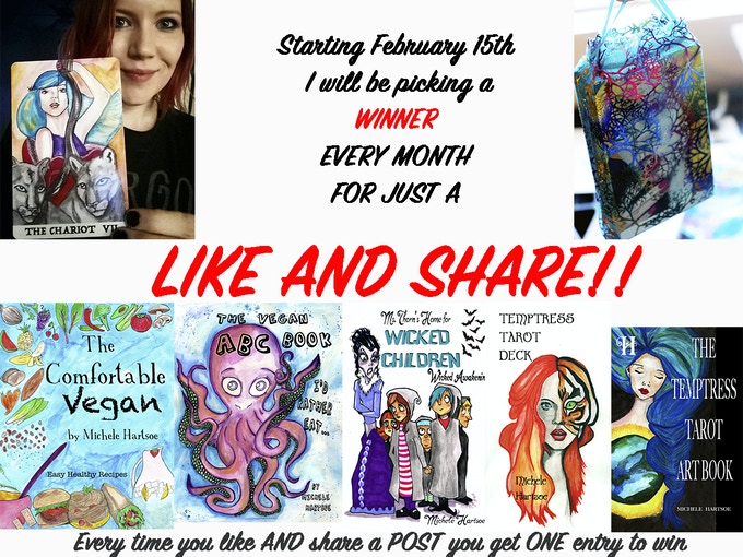 VISIT my FAN PAGE FOR YOUR CHANCE TO WIN