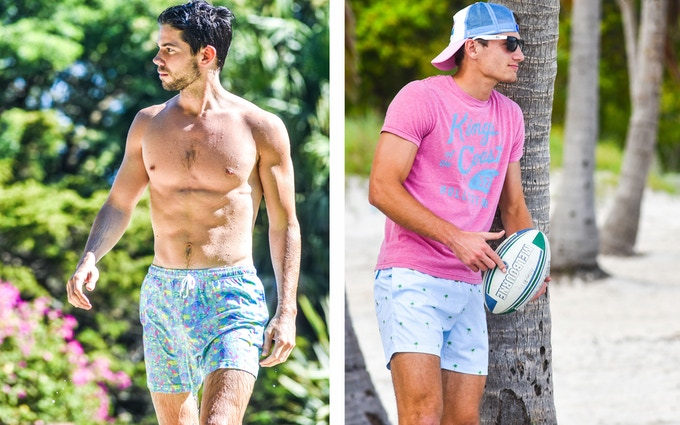 fa9f9f1131 The Classics are designed for men who want to break away from the typical  board shorts and try a shorter, more elegant and stylish look.