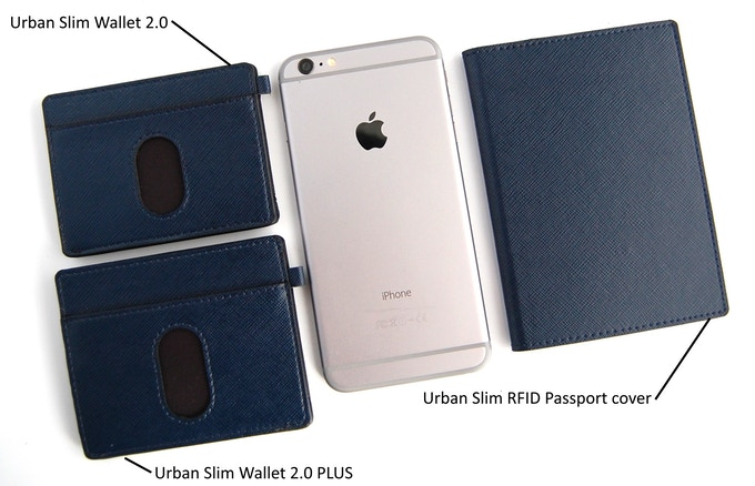 Urban Slim wallet 2.0 , 2.0 PLUS and RFID passport cover