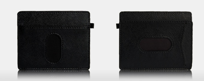 Urban Slim wallet 2.0 PLUS Black color