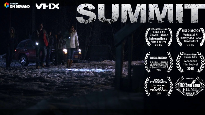 A horror film that pays homage to the slasher genre; five friends going on a ski trip get lost and it's all downhill from there.