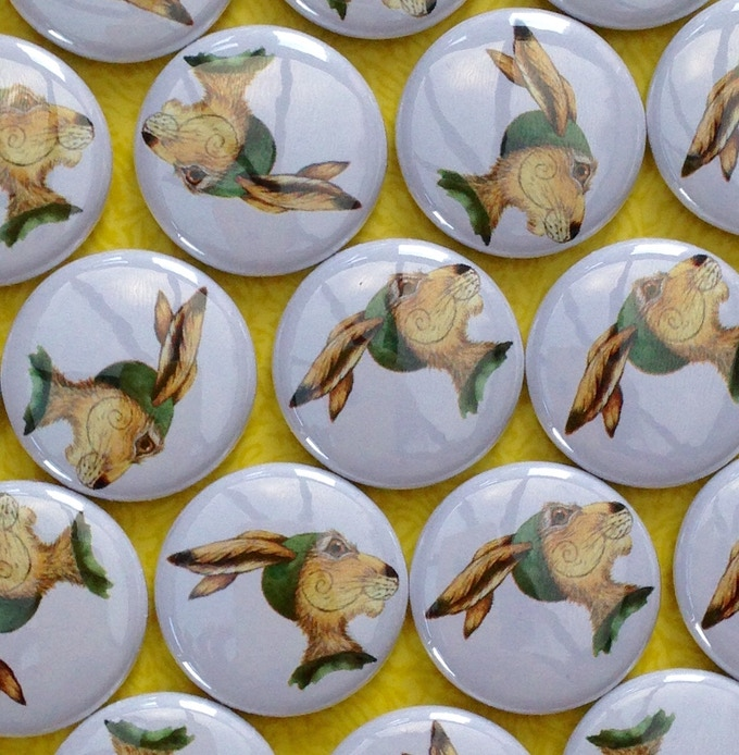Matlock pin-badge - wear with pride, wherever you 'pid-pad'!