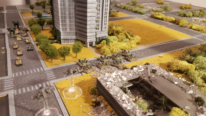 Polyversal is a tabletop miniatures game system that puts you