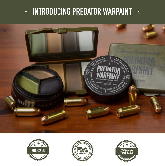 Predator Warpaint Made By Warriors For Warriors By Nick