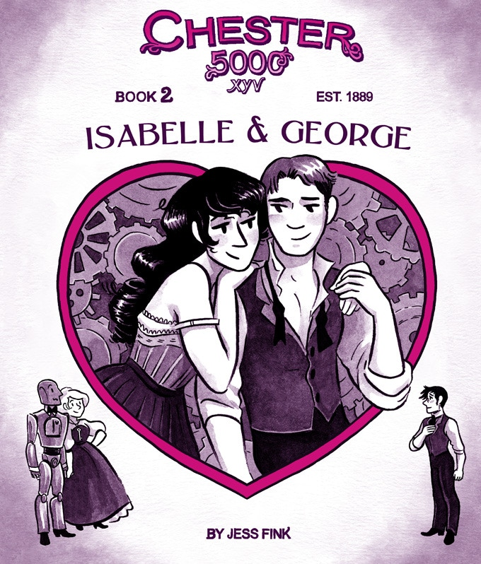 The cover of Isabelle and George!