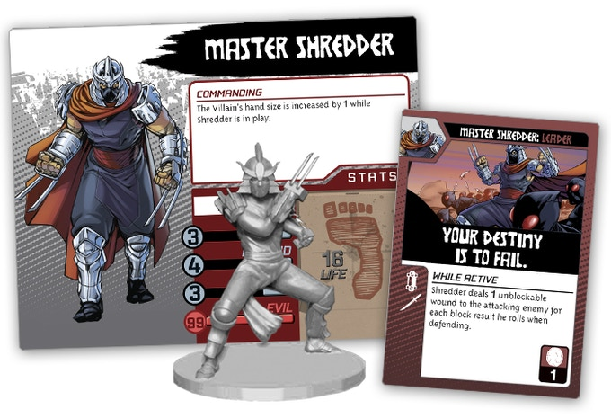 Shredder Villain pack