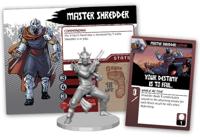 Shredder Villain pack