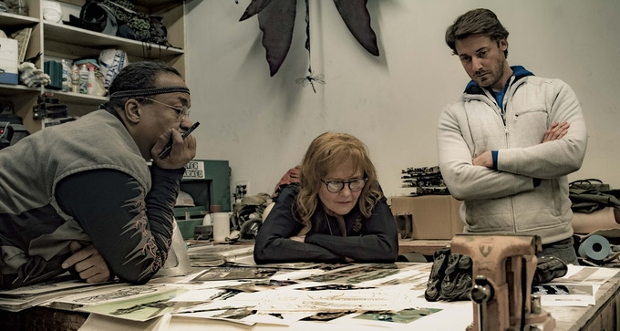 Renegade Effects Group owners conceptualizing with Logan Cross