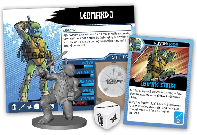 Leonardo Hero pack