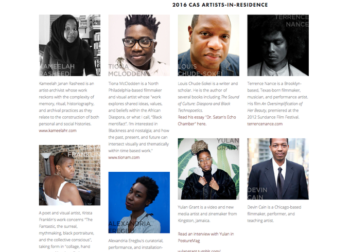 Click on the image to read more about these artists.