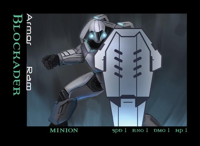 Cyborg Blockader