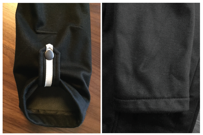 HIGH VISIBILITY REFLECTIVE SLEEVE TAB - MIA MELON COMMUTER HOODIE