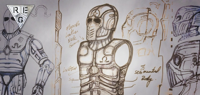 The Omega Soldier Design Concepts by Renegade Effects Group