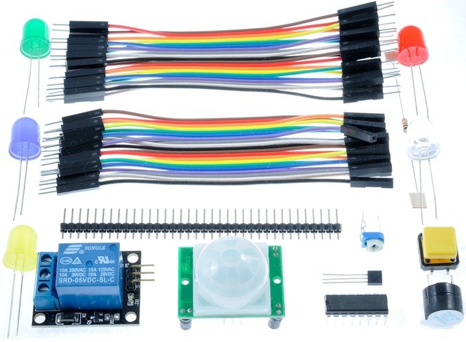GPIO Zero Experimenter's Kit