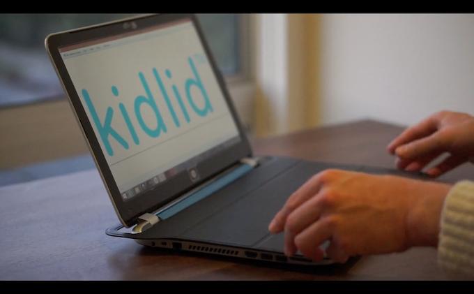 Kid Lid Fold Up Laptop Cover (black)
