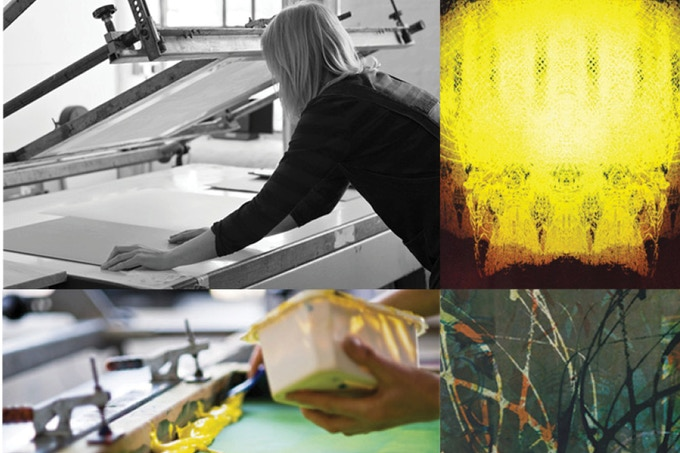 £150 - Half day paper screen-printing workshop for you lead by Vicky Price, professional print maker, illustrator and educator. Your own edition of prints at end + a signed Vicky Price print to take away with you!