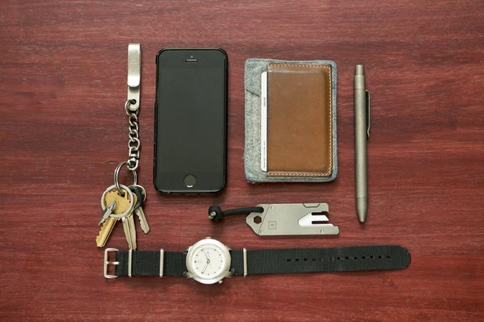 Our personal everyday carry (EDC) goal is to only carry a few well made & versatile items, and nothing more.