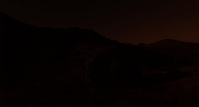 Martian twilight