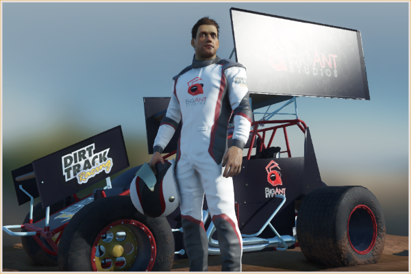 Dirt racing driven by customization - this is YOUR game