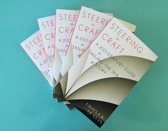 -At $1000 you'll get a signed copy of Steering the Craft, Le Guin's wonderful, recently reissued writer's guide. You'll also get a one-minute audio message from the author in answer to your question about writing and life. Wow!