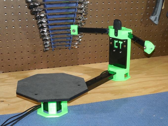 cowtech ciclop 99 open source 3d scanner by cowtech kickstarter. Black Bedroom Furniture Sets. Home Design Ideas