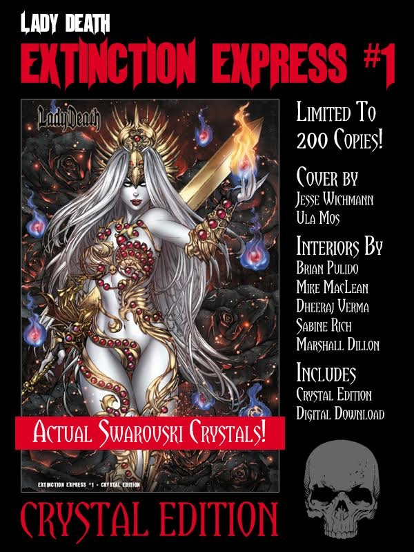 CRYSTAL EDITION GRAPHIC NOVEL ($50)