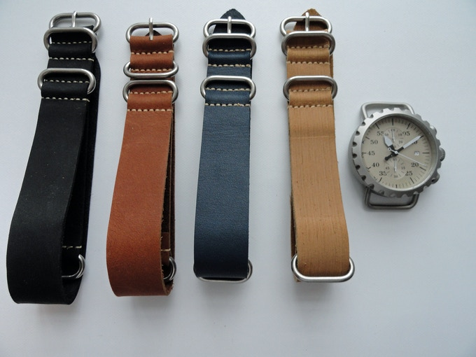 Leather Zulu color options.