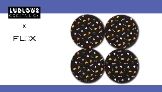 $15 Reward Tier - Limited Edition FLOX Coasters