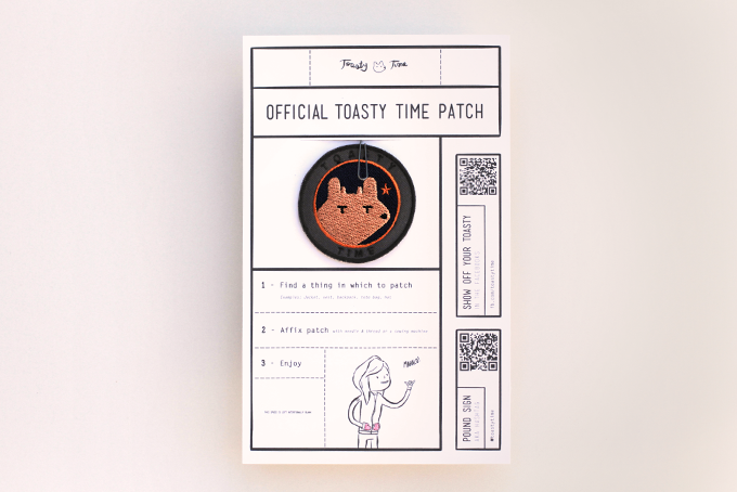 $6: An official Toasty Time patch
