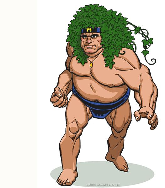Man Mountain Thunder, Strike Force's Powerhouse!